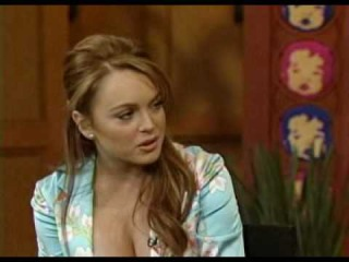 Lindsay Lohan Regis And Kelly Interview February 2004