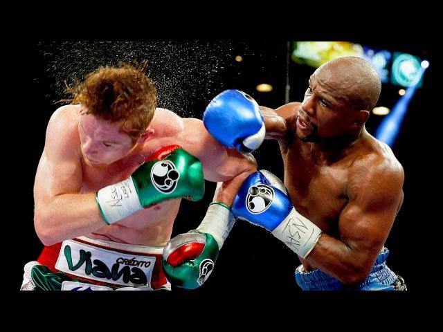 Floyd Mayweather Jr vs Canelo Alvarez Highlights Mayweather SCHOOLS Canelo