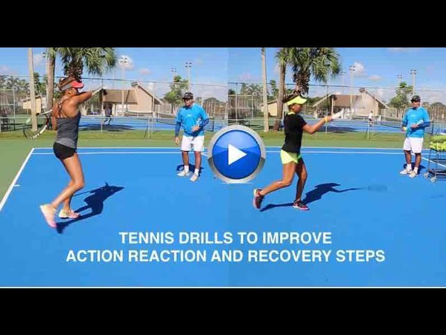 How to improve action reaction and recovery steps by Alvaro Bedoya