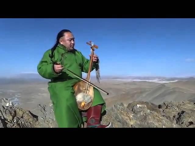 Древний музыкальный инструмент и монгольское горловое пение -Batzorig Vaanchig