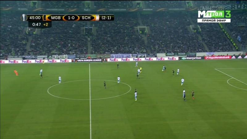 Лига Европы 2016-17. 1.8 финала. 2-й матч. Боруссия М - Шальке-04 16.03.2017 HDTVRip 720p