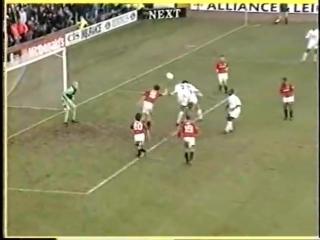 Премьер-лига 1995/96, Лидс — Манчестер Юнайтед. Игра в канун Рождества