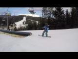 Діма Лучкін in Bukovel Snowpark