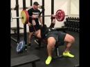 Тор Бьернсон - жим лежа 200 кг на 10 повторов