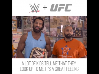 [#My1] WWE Champ Jinder Mahal and UFC fighter Arjan S Bhullar, train together and take it to the mat.