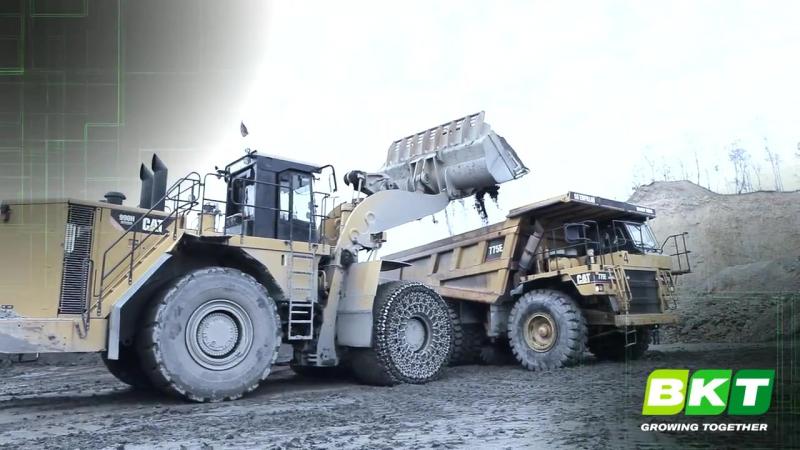 BKT Radial OTR Tires