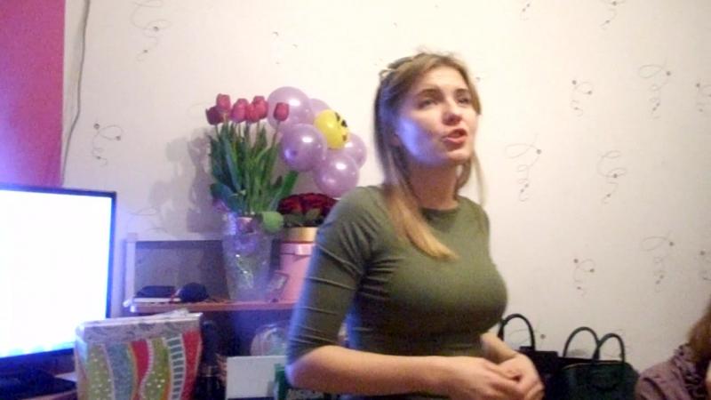 01.12.16г поёт моя крёстная доча :