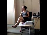 Ofisteki Mini Etekli Sekreter (Video fa)