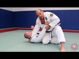 Xande ribeiro - power knee slide using palm down grip