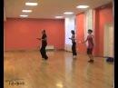 Разминка на занятии латиноамериканскими танцами