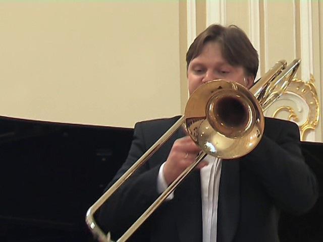 Alexander Gorbunov (trombone) 2009-02-18