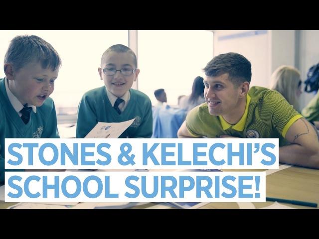 STONES KELECHI'S SCHOOL SURPRISE! | Etihad Airways CITC Literacy Project