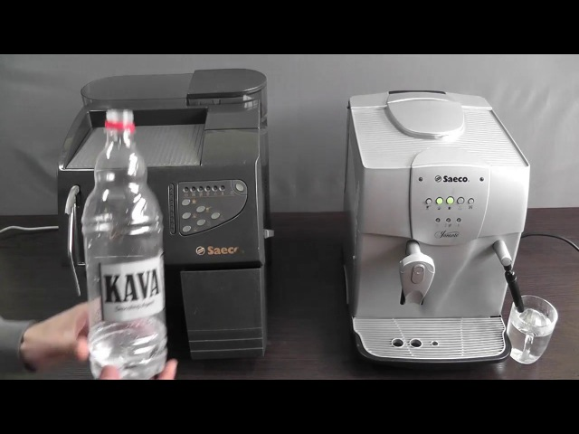 Чистка кофемашины. Накипь в Saeco, Delonghi, Bosch.