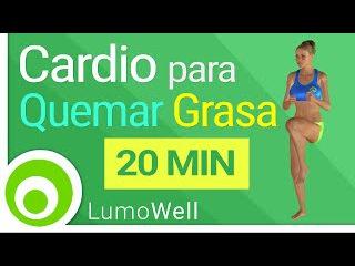 Cardio para quemar grasa: rutina intensa para adelgazar   20 minutos