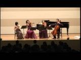 Chopin Tristess flute Atsuko Koga viola Anna Buschuew cello Ithay Khen