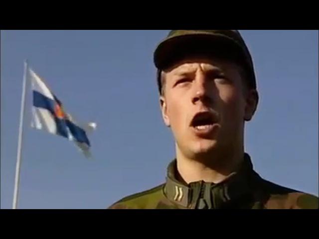 Kimi Raikkonen in the Finnish Army