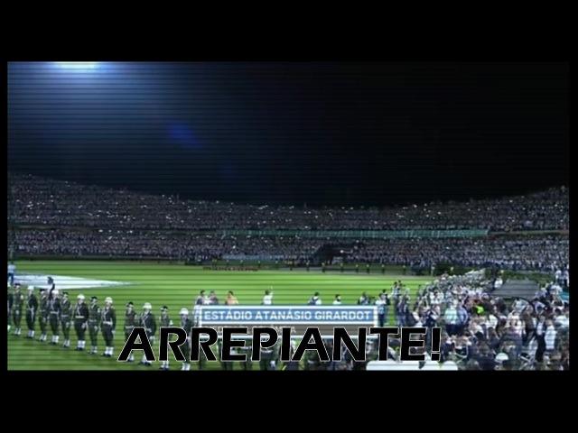 Torcida do Atlético Nacional Canta Vamo Vamo Chape em Estádio Totalmente Lotado