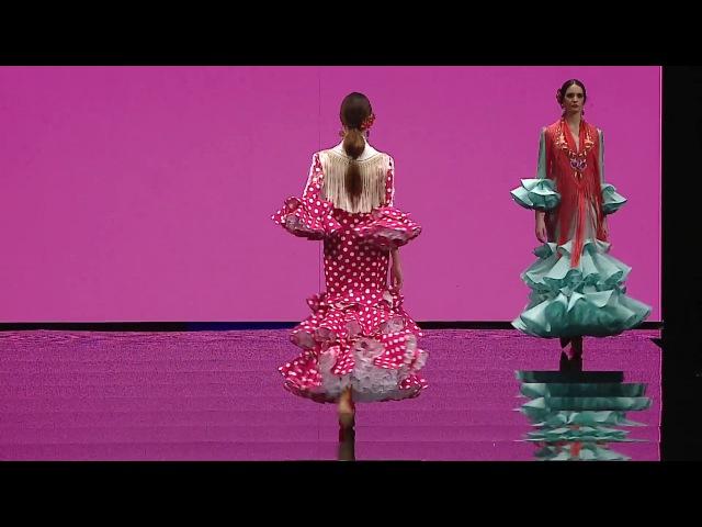 SIMOF 2017 Trajes de flamenca de Lina Colección Manifiesto