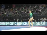 Shallon Olsen (CAN) - Floor Exercise Final - 2016 Pacific Rim Championships
