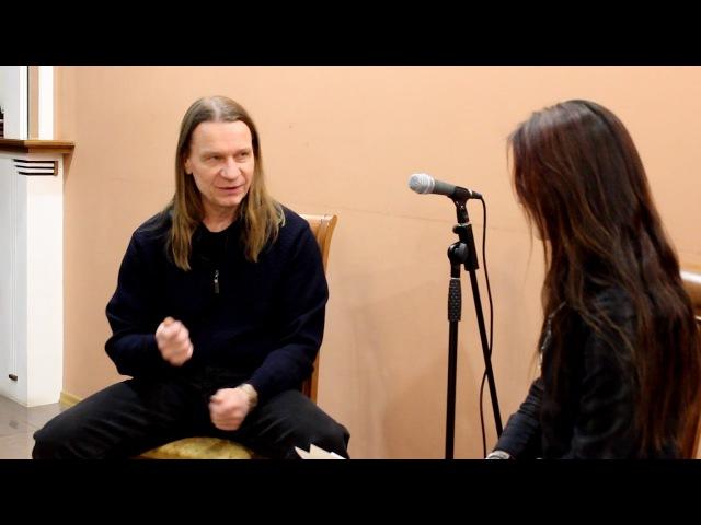 Валерий Кипелов - Интервью для Cyber Snake TV cybersnake.ru/kipelov.html
