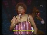Sarah Vaughan in memoriam part 2 ( summertime &amp send in the clowns) 80,s