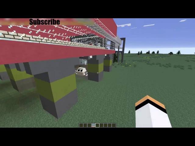 Minecraft RTM Station download link. RTM станция скачать. Monorail