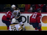 Capitals' Wilson makes Bruins' Blidh pay for admiring dump in