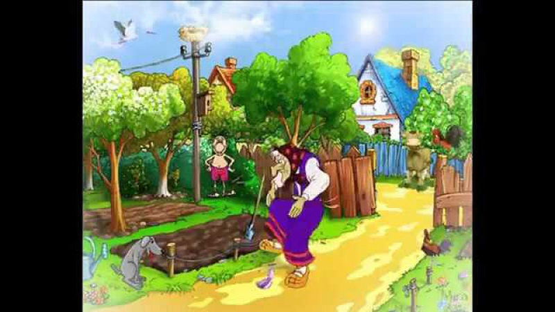 ♫ Во саду ли в огороде ¦ Русские песни для детей with Lyrics 360p