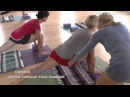 Balance Lunge Forward with Senior Iyengar Yoga Teacher Carrie Owerko