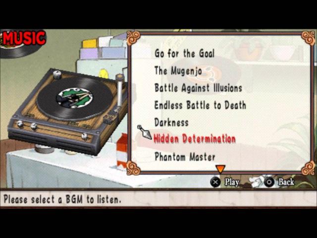 Naruto: Ultimate Ninja Heroes 2 - 6 BGM Hidden Determination Theme Song