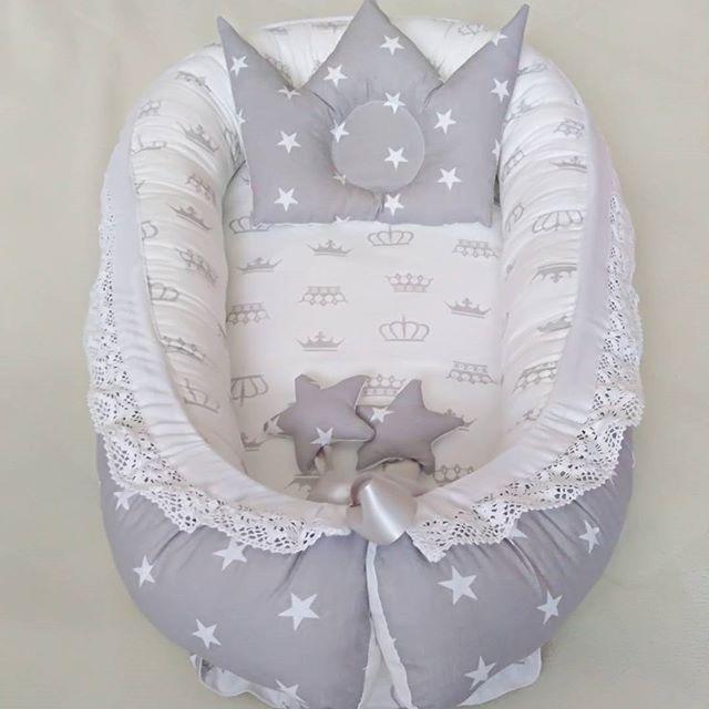 Пошаговая инструкция о том, как самой сшить кокон для новорожденного.
