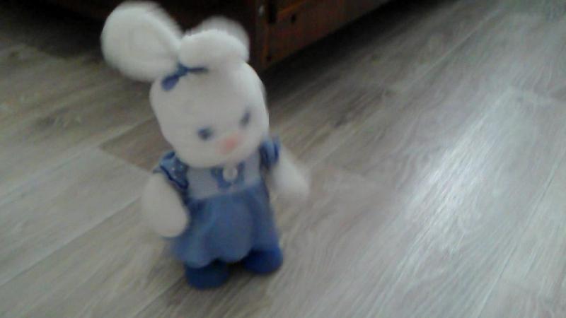 Динь-Дилинь - талантливый зайчик :)