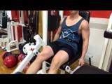 Хардкорная тренировка ног и дельт