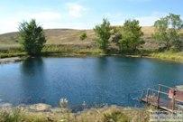 28 августа 2016 - Самарская область: Голубое озеро
