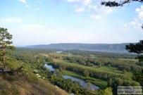 21 августа 2016 - Вид на Федоровские луга и Жигулевские горы