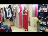 Красный комбинезон, сумка Габриэлла AVON