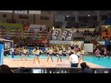 video 161216 Сheerleader Sistar Hyorin (League women volleyball Suwon Hyundai hillstate and Incheon Xingguo)