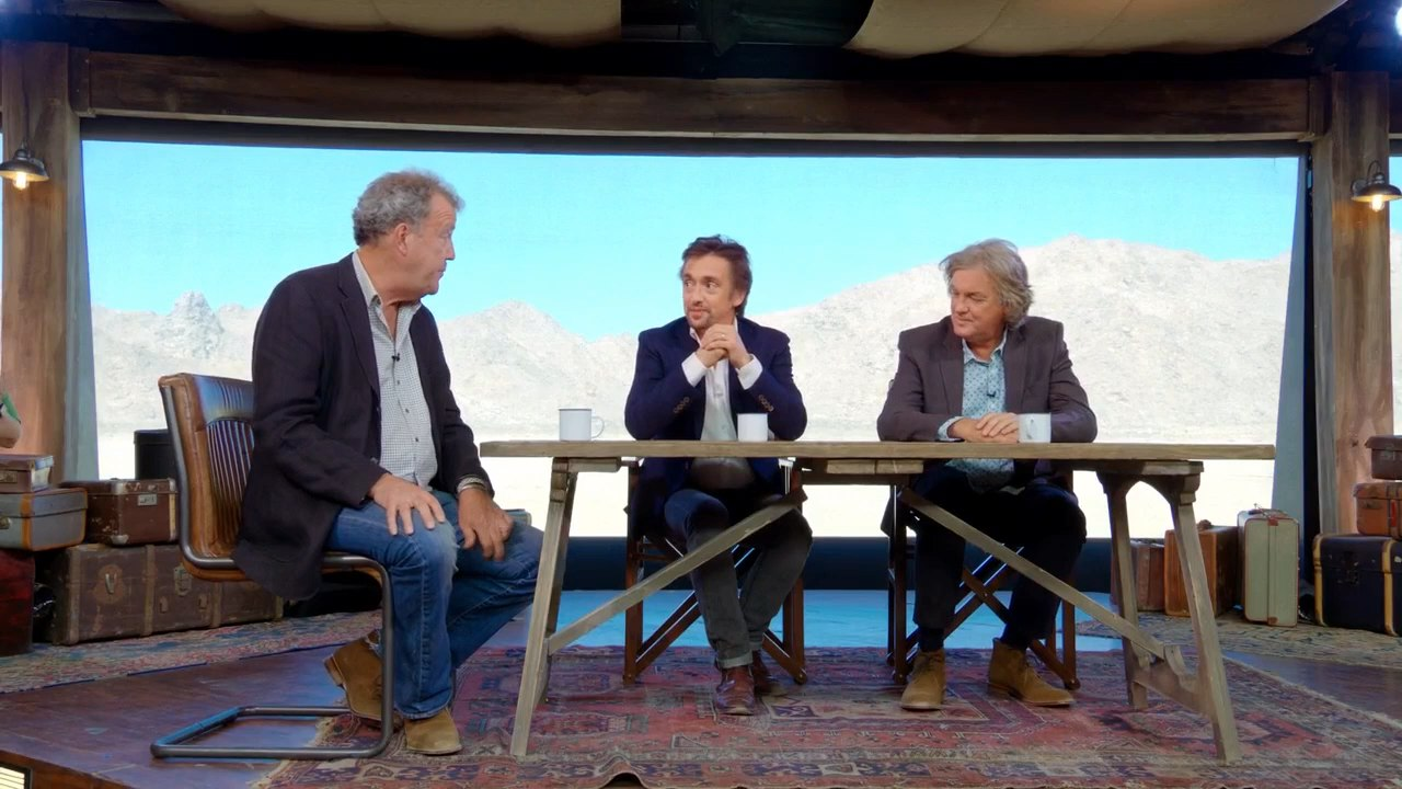 Гранд тур / The Grand Tour [S01] (2016) WEBRip 720p Gears Media скачать торрент