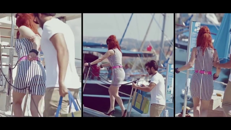 Серкан Чайоглу в клипе певицы Hande Yener с песней:Ya Ya Ya.