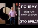Расчет оптимальной глубины для шкафов купе Встроенные шкафы купе на заказ в Брянске и Москве