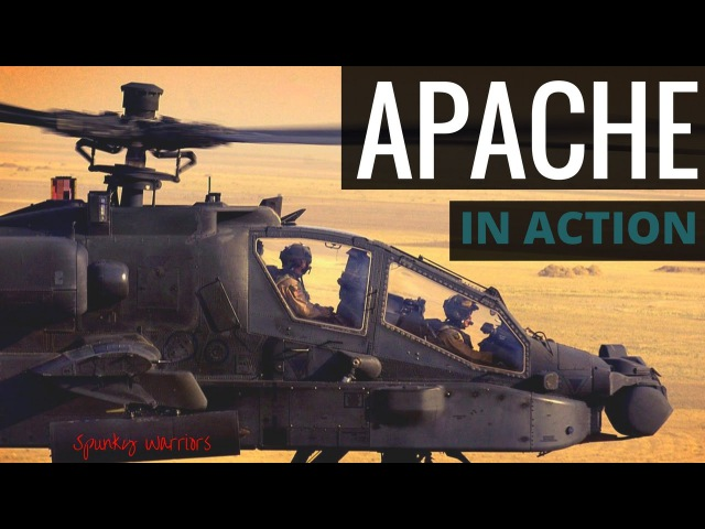 Apache Helicopter - AH-64 Attack Helio in Action
