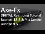 Axe Fx  Scarlett Focusrite 18i8 Reamping