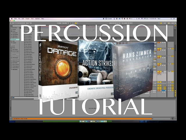 How To Create Epic and Cinematic Percussion Drum Layering Tutorial смотреть онлайн без регистрации