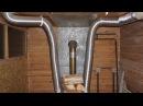 Воздушное отопление в доме из печи длительного горения - 2986 руб. против 10000 руб в холодном доме