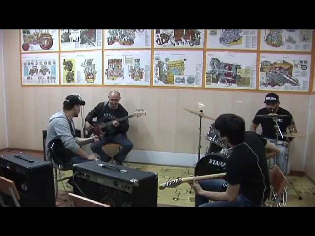 Silver Nail Metallica fade to black guitar cover