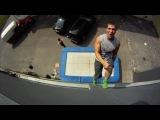 New Extreme Sport Trampoline Wall. Christophe Hamel Demo 2012