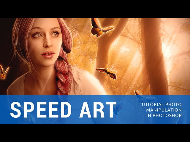 Speed art Fantasy Moment -Tutorial Fantasy effect (Photoshop) | Patricia Lira\lkj