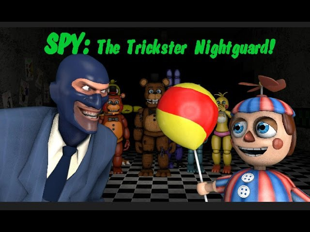 [SFM] FNAF2 - SPY: The Trickster Nightguard!