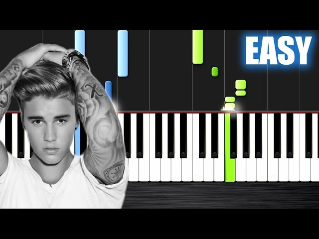 DJ Snake ft. Justin Bieber - Let Me Love You - EASY Piano Tutorial by PlutaX