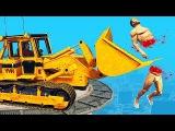 Приколы в играх WDF 15 Бульдозер Смешные моменты в GTA 5, CSGO